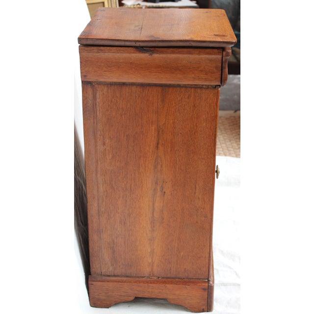 Louis Phillipe 1840 Oak Commode For Sale - Image 5 of 8