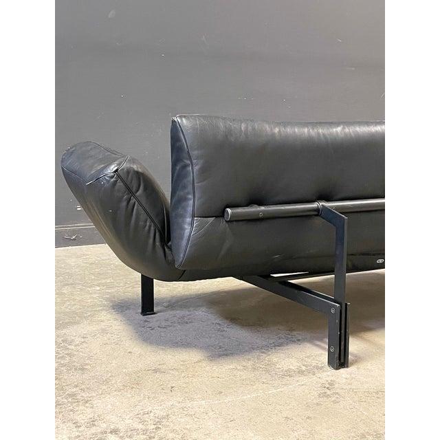 De Sede De Sede Leather Sofa For Sale - Image 4 of 12