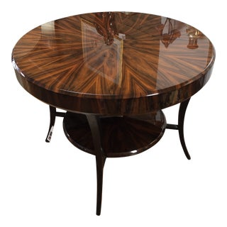 Art Deco Jonathan Charles Rosewood Center Table For Sale