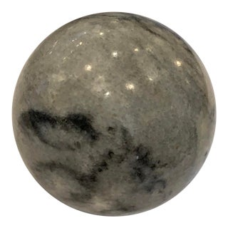 Vintage Marble Stone Ball For Sale