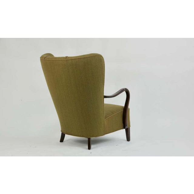1940s 1940s Danish Lounge Chair by Alfred Christensen For Sale - Image 5 of 8