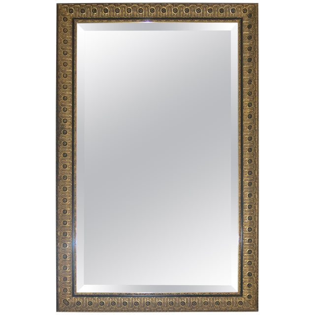 Neoclassical Wall Mirror by Juan Pablo Molyneux For Sale