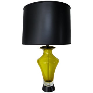 Flavio Poli Glass Table Lamp