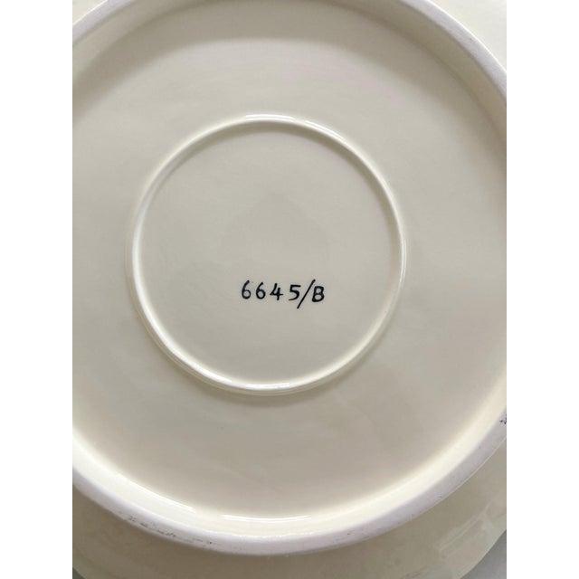 Ardalt Mid 20th Century Lenwile Ardalt Artware Lime Citrus Dessert Plates - Set of 4 For Sale - Image 4 of 7