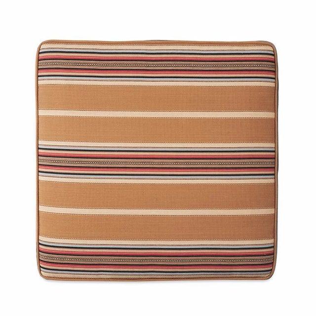 Southwestern Striped Square Floor Pillow Chairish