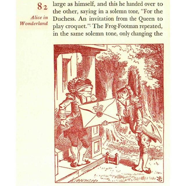 """Alice in Wonderland"" Book Circa 1960 - Image 4 of 4"