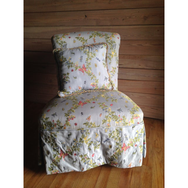 Vintage Slipper Chair - Image 2 of 10