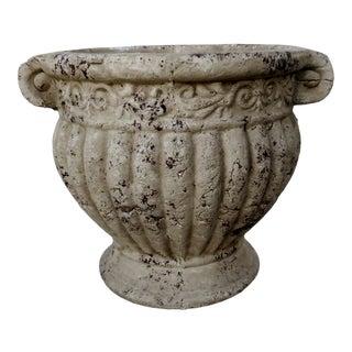 Vintage Cast Stone Urn For Sale