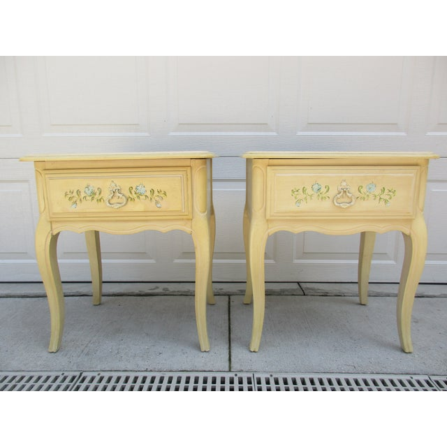 20th Century French Country Nightstands - a Pair For Sale - Image 10 of 10