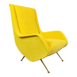 Italian Mid-Century Armchair For Sale