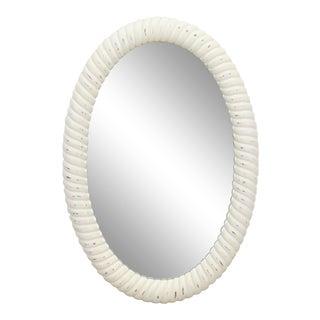 Vintage Oval Shape Rope Mirror
