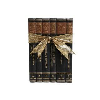 Vintage Book Gift Set: Study of World Art - Set of 6