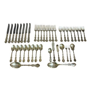 Gorham Sterling Siver Flatware - 41 Pieces For Sale