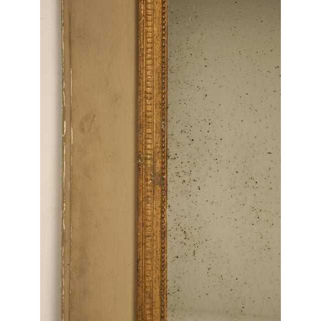 Circa 1880 French Painted Trumeau Mirror For Sale In Chicago - Image 6 of 12