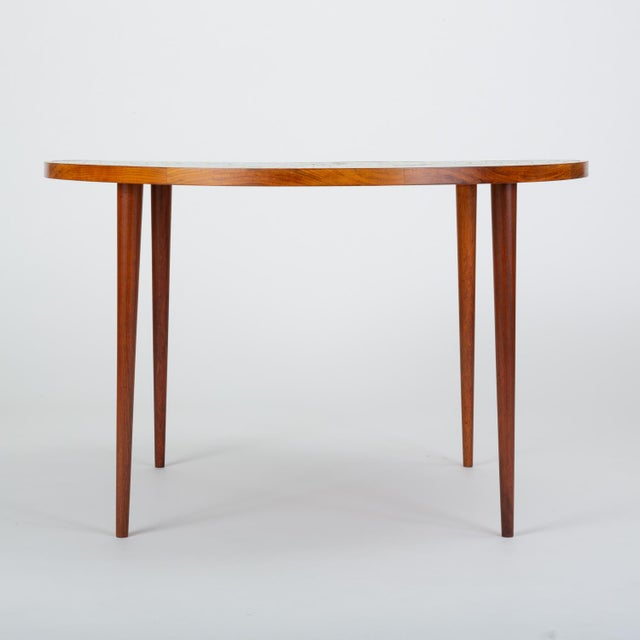 1950s Tile-Top Walnut Dining Table by Gordon & Jane Martz for Marshall Studios For Sale - Image 5 of 13