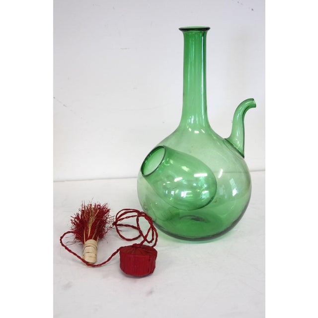 Italian Blown Glass Decanter - Image 4 of 5