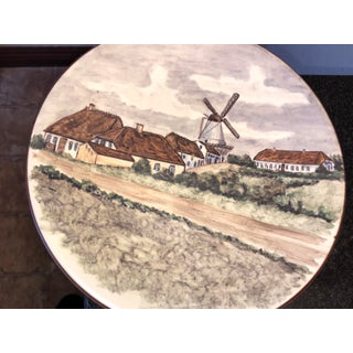 Emil Ruge Danish Majolika Pottery Plate by Lillian Milleck Preview