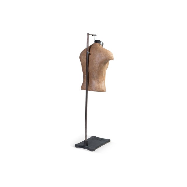Male Mannequin Torso With Adjustable Stand - Image 4 of 4