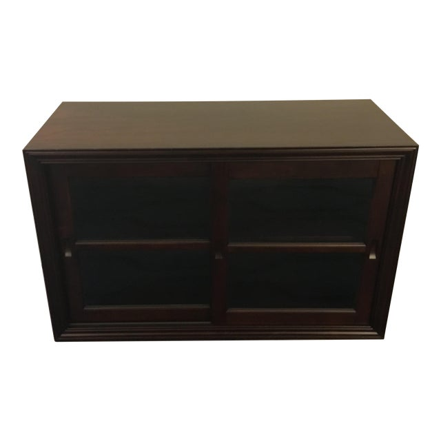 Pottery Barn Wooden 2-Door Cabinet With TV Stand - Image 1 of 6