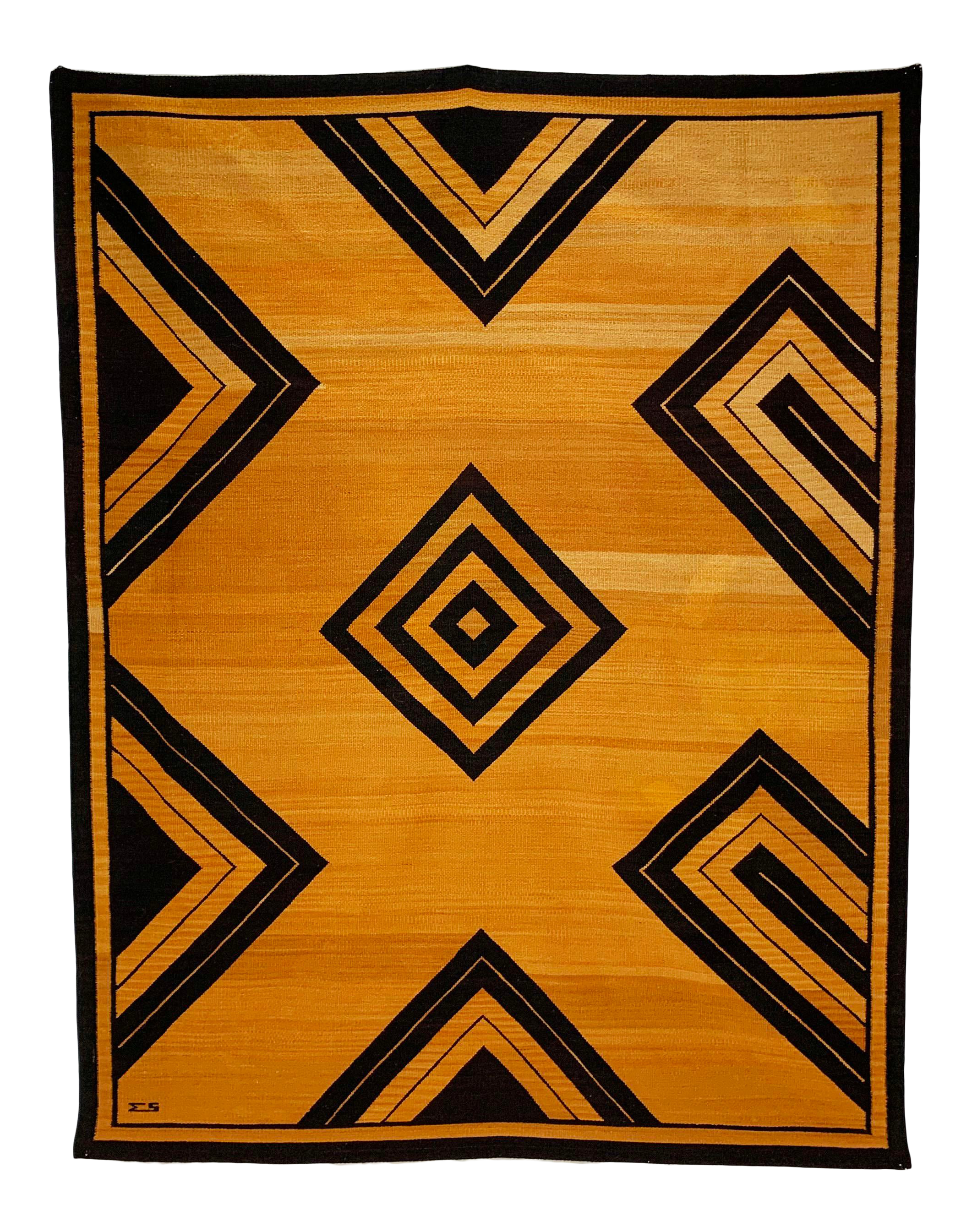 Vintage New Art Deco Rugs For Sale Chairish