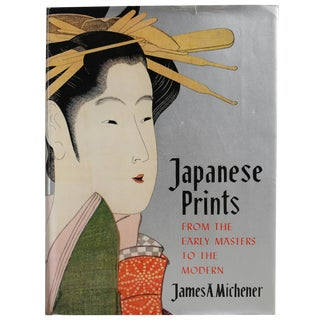 "1963 ""Japanese Prints: Early Masters to Modern"" Book"