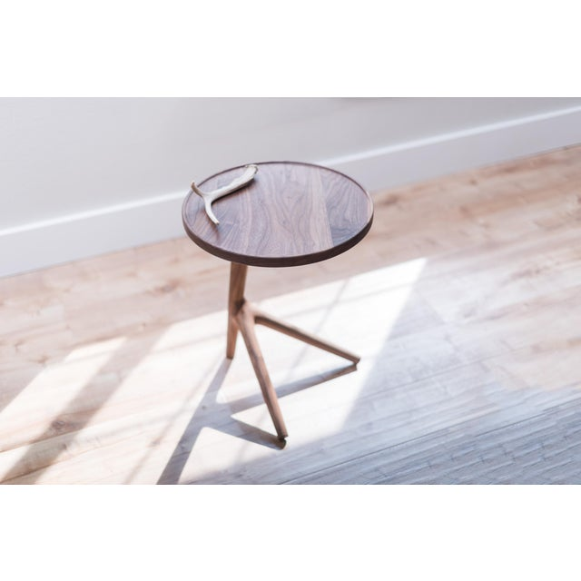 Tripod Nesting End Tables - Set of 3 For Sale - Image 9 of 13