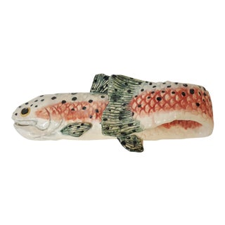 Spotted Trout Towel Holder For Sale