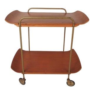 1960s Mid-Century Modern Italian Bart Cart