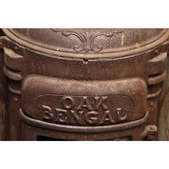Antique Oak Bengal Stove For Sale - Image 4 of 13