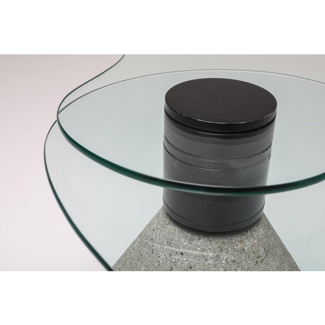 Postmodern Coffee Table in the Manner of Saporiti - 1980s For Sale - Image 9 of 10