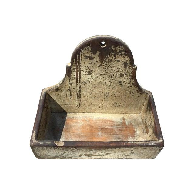 Antique Primitive Candle Box - Image 1 of 6