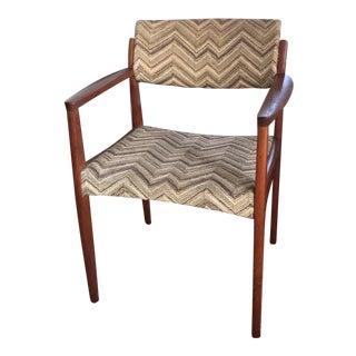 1960s Vintage Bramin Møbler Danish Modern Teak Armchair For Sale