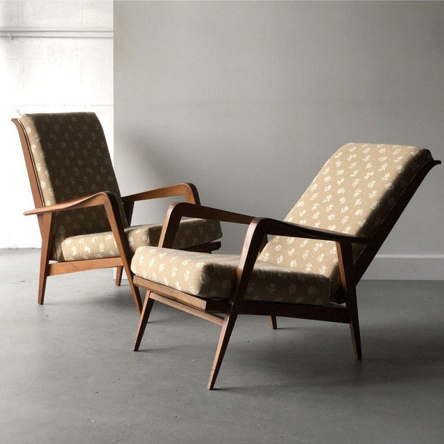 Mid-Century Reclining Chairs - A Pair For Sale - Image 10 of 10