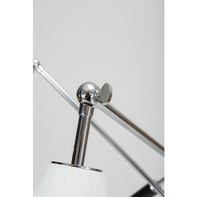 Three-Arm Italian Modernist Floor Lamp With Marble Base For Sale - Image 9 of 13