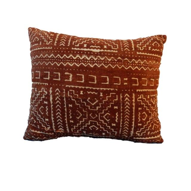 Malian Mud Cloth Pillow - Image 4 of 5