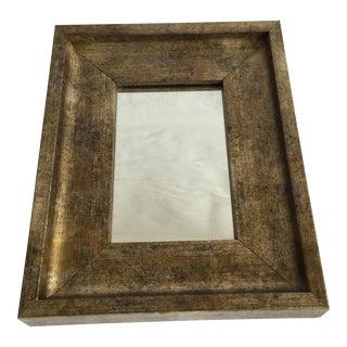 Small Gold Leaf Mirror