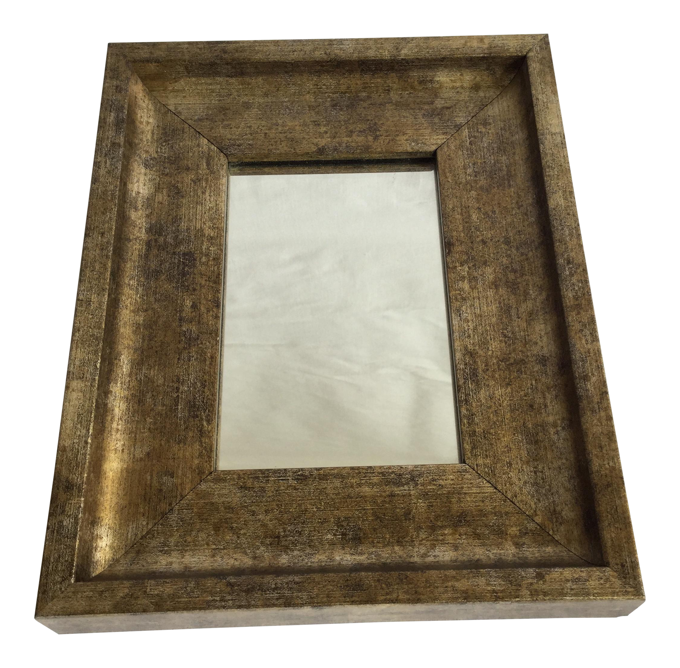 Small Gold Leaf Mirror