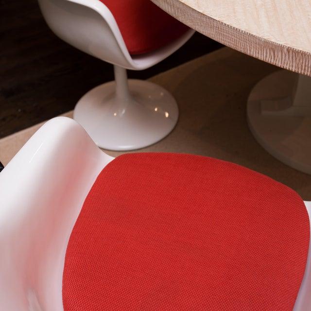 Saarinen Style Tulip Chairs - Set of 4 - Image 4 of 6