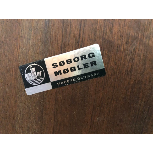 Borge Mogensen for Soborg Mobler Danish Teak Cabinet and Bookshelf For Sale - Image 10 of 11