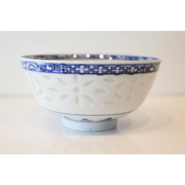 Vintage Blue Chinese Bowl For Sale In New York - Image 6 of 6