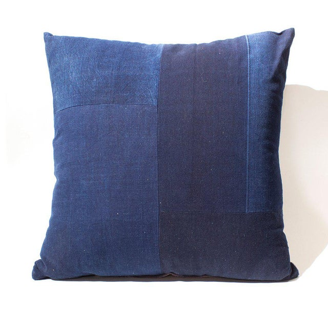 This pillow is made from old Japanese Kendo jackets. Stuffed with down alternative pillow. Every pillow is hand made from...