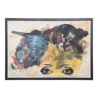 """""""Abbraccio Tra La Guistizia E La Pace"""" by Almudena Rodriguez For Sale"""
