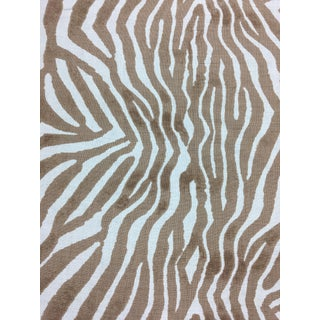 "Clarence House ""Mandari"" Brown Fabric For Sale"
