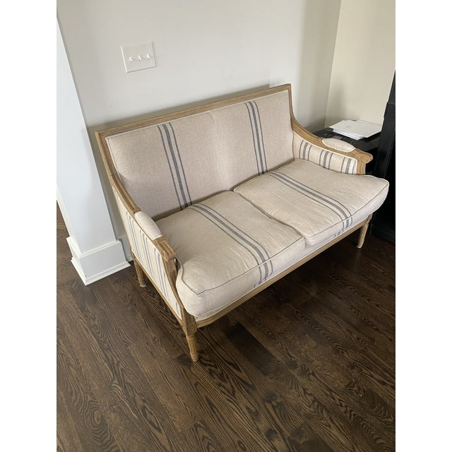 2020s French Style Settee by One Kings Lane For Sale - Image 5 of 5