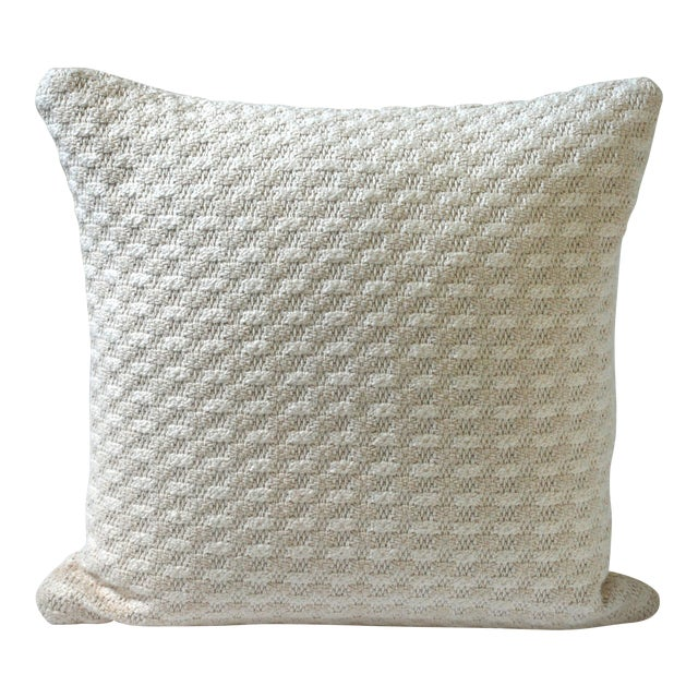 Cloud Bobble Heavy Woven Pillow Cover For Sale