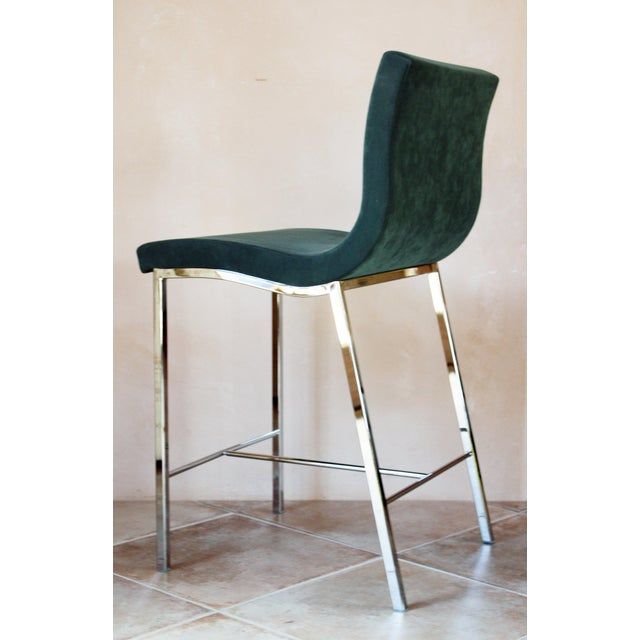 Metal Modern Ligne Roset Counter Stools - a Pair For Sale - Image 7 of 10
