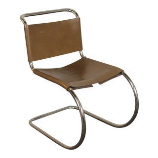 Mid-Century Modern Knoll Cantilever Chair For Sale