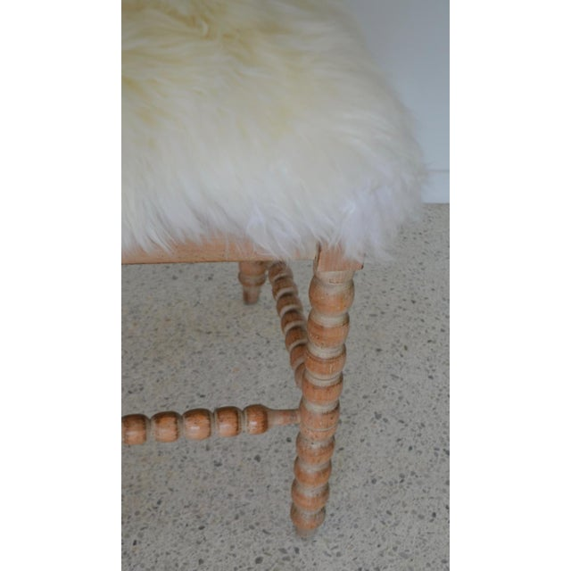 Turned Wood Corner Chair For Sale - Image 11 of 13