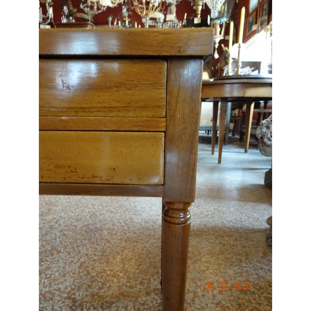 French Marble Side Table For Sale - Image 12 of 13