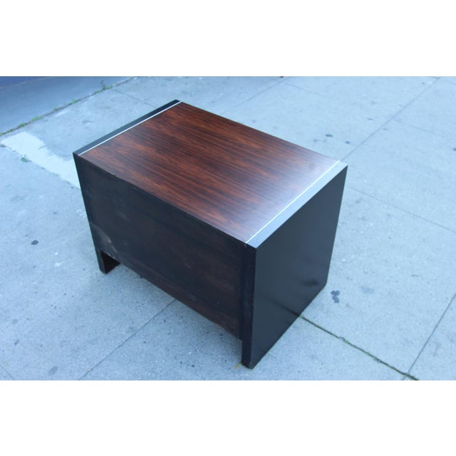 Robert Baron Glenn of California Rosewood Nightstand - Image 5 of 9